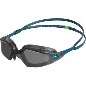 speedo Aquapulse Pro Occhialini da nuoto, petrolio/grigio